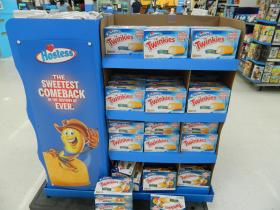 Walmart put Twinkies and other Hostess items on some store shelves over the weekend, including Winston-Salem, Greensboro and High Point. But the company's official nationwide release date for the treats was Monday.