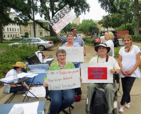 Rallies have been held across the country in support of Medicaid expansion under the Affordable Care Act. In 2012, the U.S. Supreme Court made Medicaid expansion an option for states.