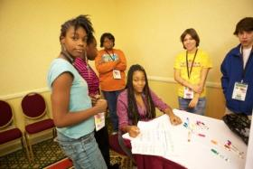 Young philanthropists at the 2012 Youth Giving Summit.