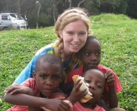 Katie Harmon travels to Africa and discovers unconditional love.