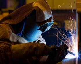 Welding is one of the professions in which some people can get free training at Forsyth Technical Community College. It's part of the school's Back to Work program.