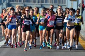Women's marathon runners are among those benefiting from innovative developments in textile technology.