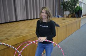 Monica Casey, owner of Monkey Hooper, is hosting a Hooper Bowl on Feb. 2 before the Super Bowl at Maple Springs United Methodist Church. There will be games, contest and a collection of non-perishable food donations for the Maple Springs Food Pantry.