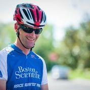 Justin Minyard will take part in this weekend's Winston-Salem Cycling Classic.