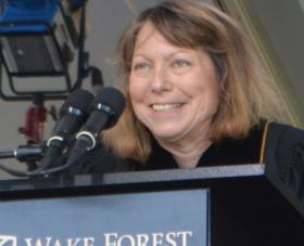 Jill Abramson Addresses WFU Class of 2014