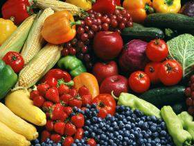 A variety of vegetables and fruits support the bodies of cancer patients as they undergo difficult treatments.