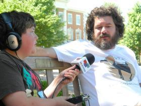 Radio Camper Alex Gaither interviews Chad Nance