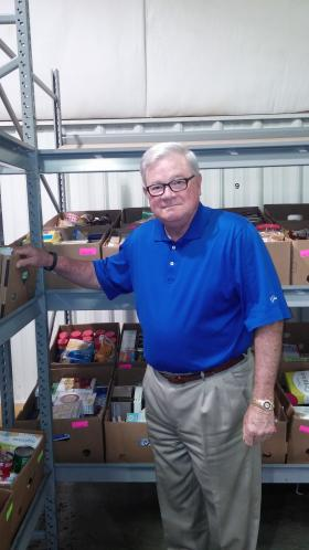 Clyde Fitzgerald is with the Second Harvest Food Bank in Winston-Salem, North Carolina. He says 62 percent of his organization's partner programs report continued increases in the number of requests for food assistance.