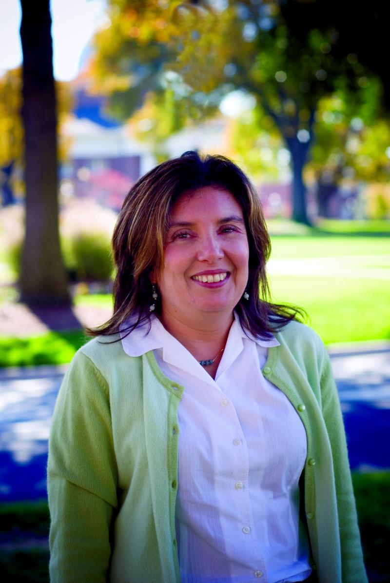 High Point University Professor and Casa Azul board member Claudia Femenias