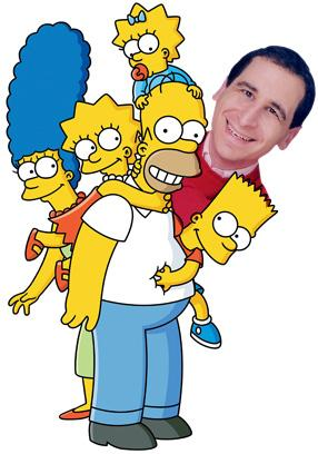 Mike Reiss has been a producer for The Simpsons for 25 years.