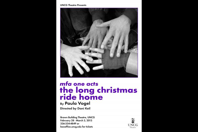 UNCG presents The Long Christmas Ride Home.