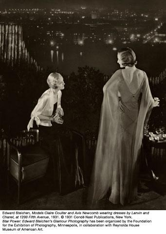 An image from Star Power: Edward Steichen's Glamour Photography