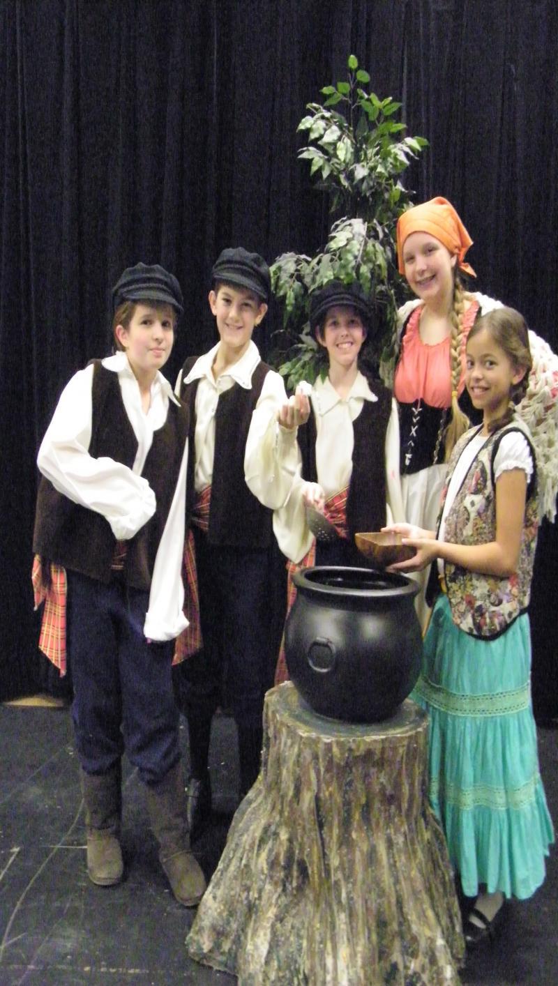 """Greensboro Children's Theatre actors present """"In the Soup"""""""