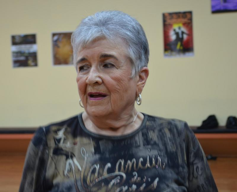 Shepherd is 81 and has been dancing for 14 years. Her advanced steps and experience ranks her in the Silver skill level in competitions.