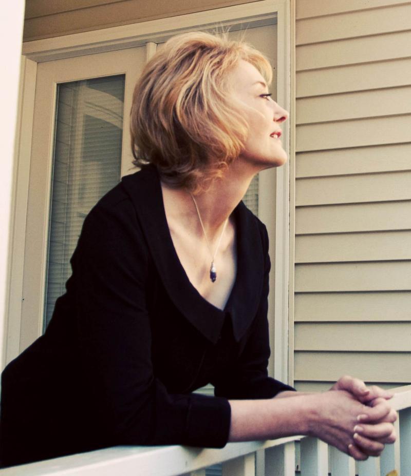 Writer Jo Maeder.