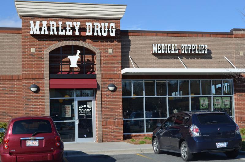 David Marley opened Marley Drugs in 2003 on Peters Creek Parkway.