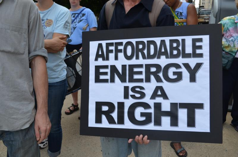 Duke Energy protesters say the last two rate hikes should be enough to help the company recover costs for plant upgrades.