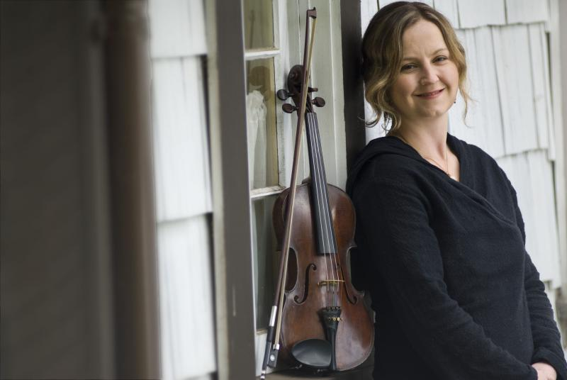 Blue Ridge Music Center manager, fiddle performer, and instructor Erynn Marshall.