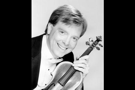 Violinist Kevin Lawrence.