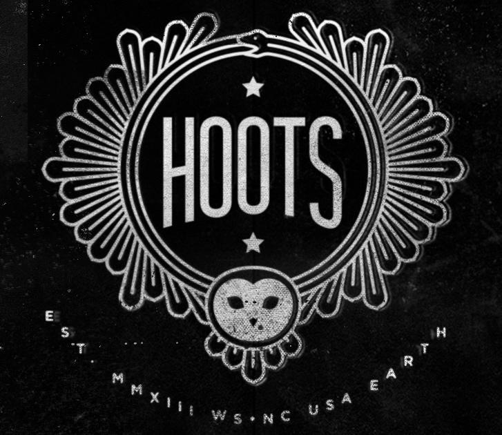 The Hoots logo.