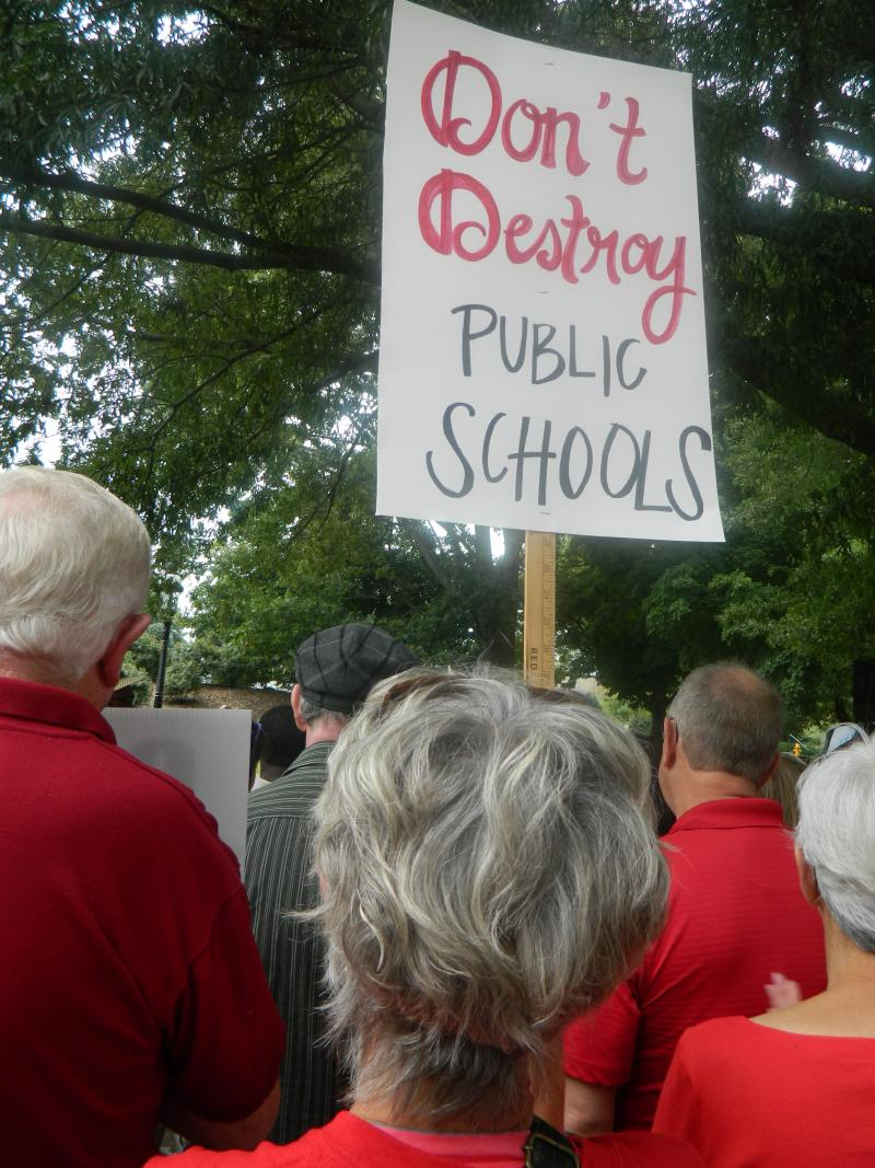 NC teachers are worried about changes in class size, teacher pay and other issues.