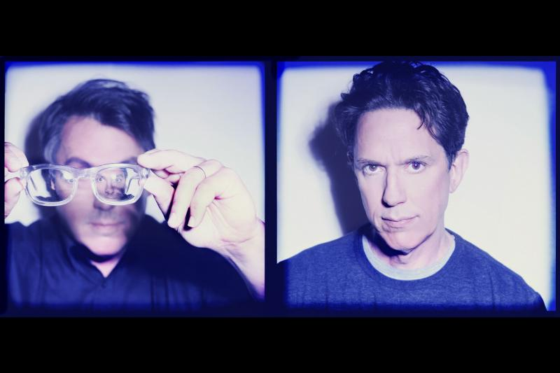 They Might Be Giants' John Flansburg and John Linnell.
