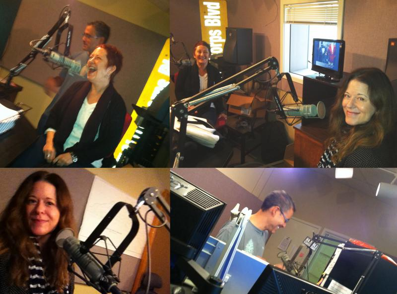 Lynn Book (top right photo - left) and Amy Catanzano (top right photo - right) joined David Ford to talk about the poem Ursonata.