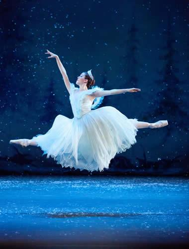 The Snow Queen from The Nutcracker.