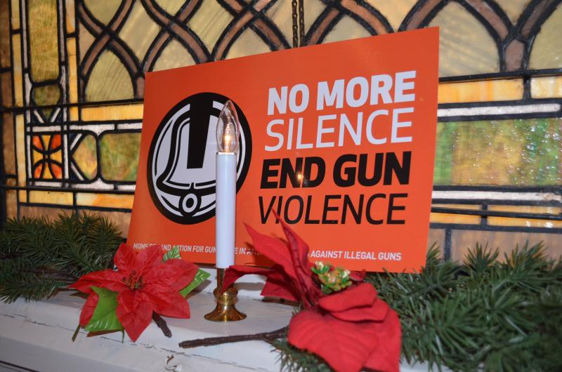 Moms Demand Action For Gun Sense in America chapters in 35 states held 'Break the Silence' events. They say more than 200 youth under the age of 13 are estimated to have died this year from gun violence.