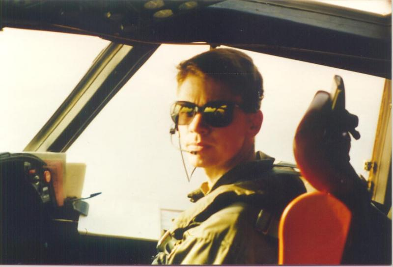 Devon Marsh flew for the U.S. Navy from 1987-1994.