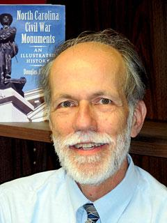 Douglas Butler is author of North Carolina's Civil War Monuments: An Illustrated Guide.