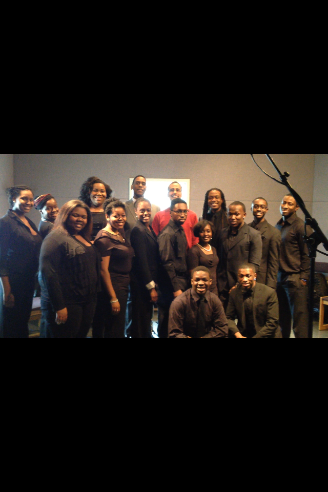 NC A&T Visual and Performing Arts University Choir.