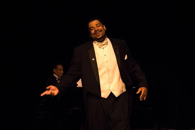 Jason McKinney as Paul Robeson.