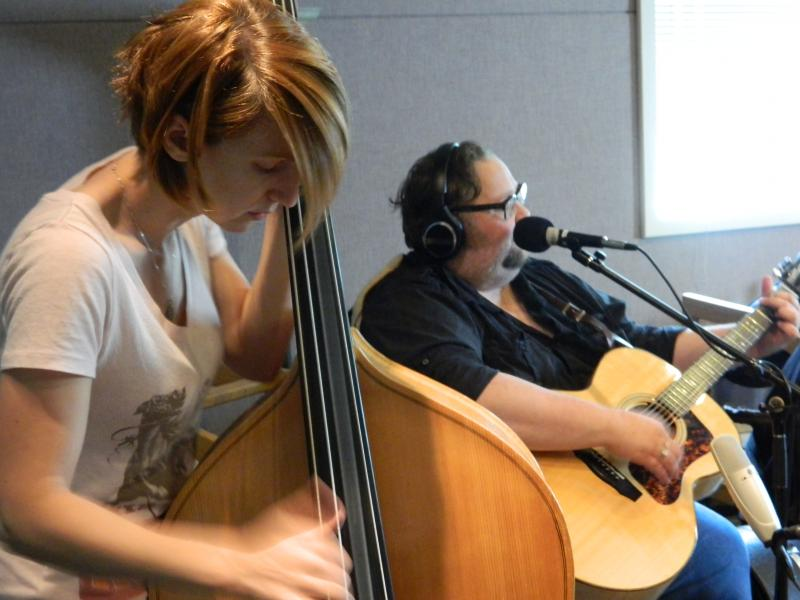 Billie Feather and Richard Boyd Live in Studio A.