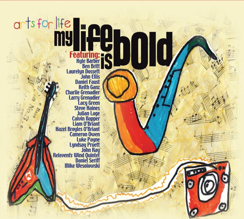 My Life is Bold CD cover.