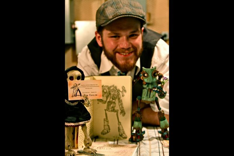 "Austin Taylor is the director of ""Death and the Robot""."