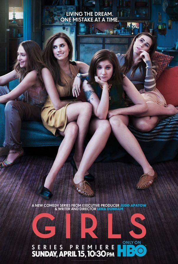 HBO poster for Girls.