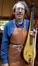 Performer and luthier Ken Bloom