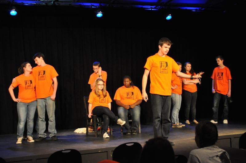 Teen Theatre Performance.