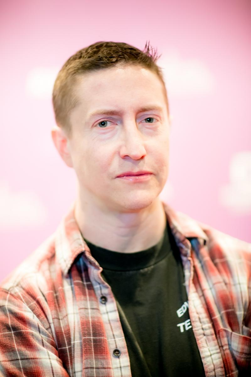 Filmmaker David Gordon Green at the RiverRun Film Festival.