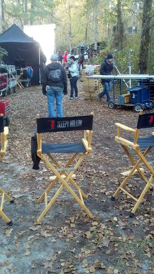 Production set from television series, Sleepy Hollow. Shot in Pender County.