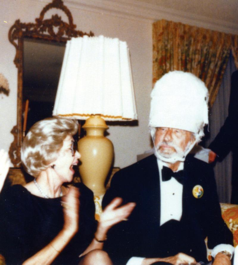 Theodor Geisel and Audrey Geisel.