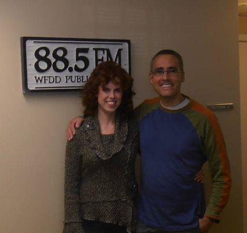 Muddy Creek Cafe owner Shana Whitehead and David Ford.