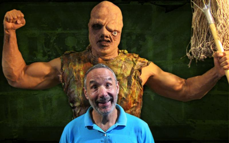 Toxie and Lloyd Kaufman