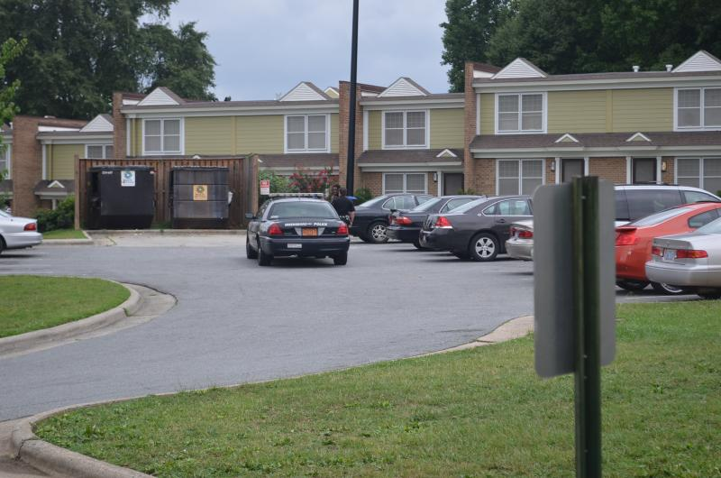 Daily, Greensboro police officers patrol Claremont Courts and the city's other public housing complexes.