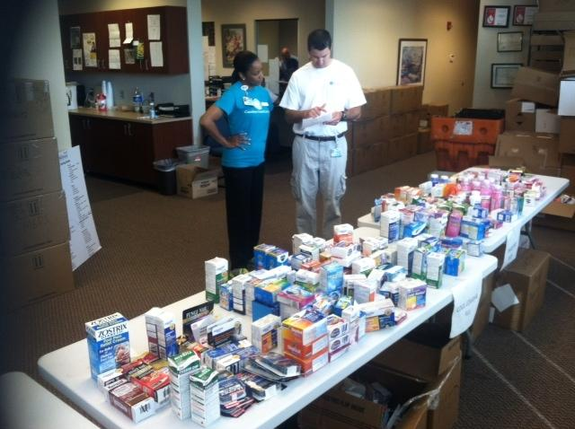 People can select up to five medications during the High Point drug give-away. NC MedAssist has been giving away free medication since 1997.