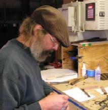 Knifemaker John Hege.