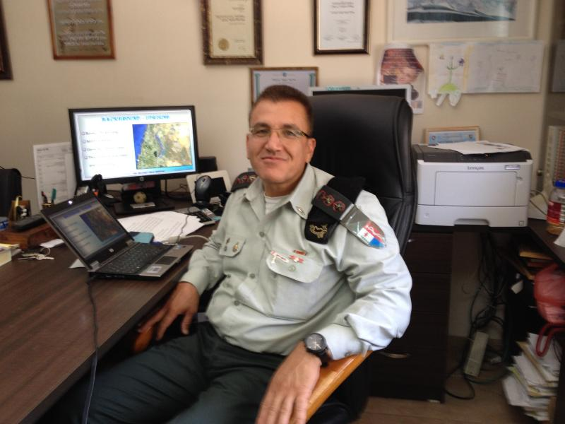 Israeli Army Col. Salman Zarka oversees military health services. He initiated a clinic and hospital partnerships to care for injured Syrians fleeing into Israel.