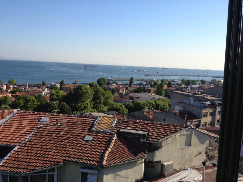Rooftops in Istanbul, Turkey