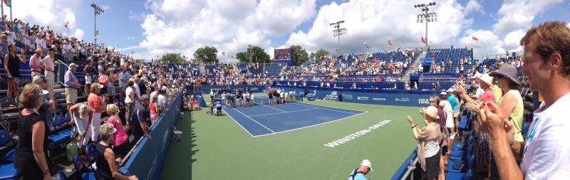 Main Court at the WS Open